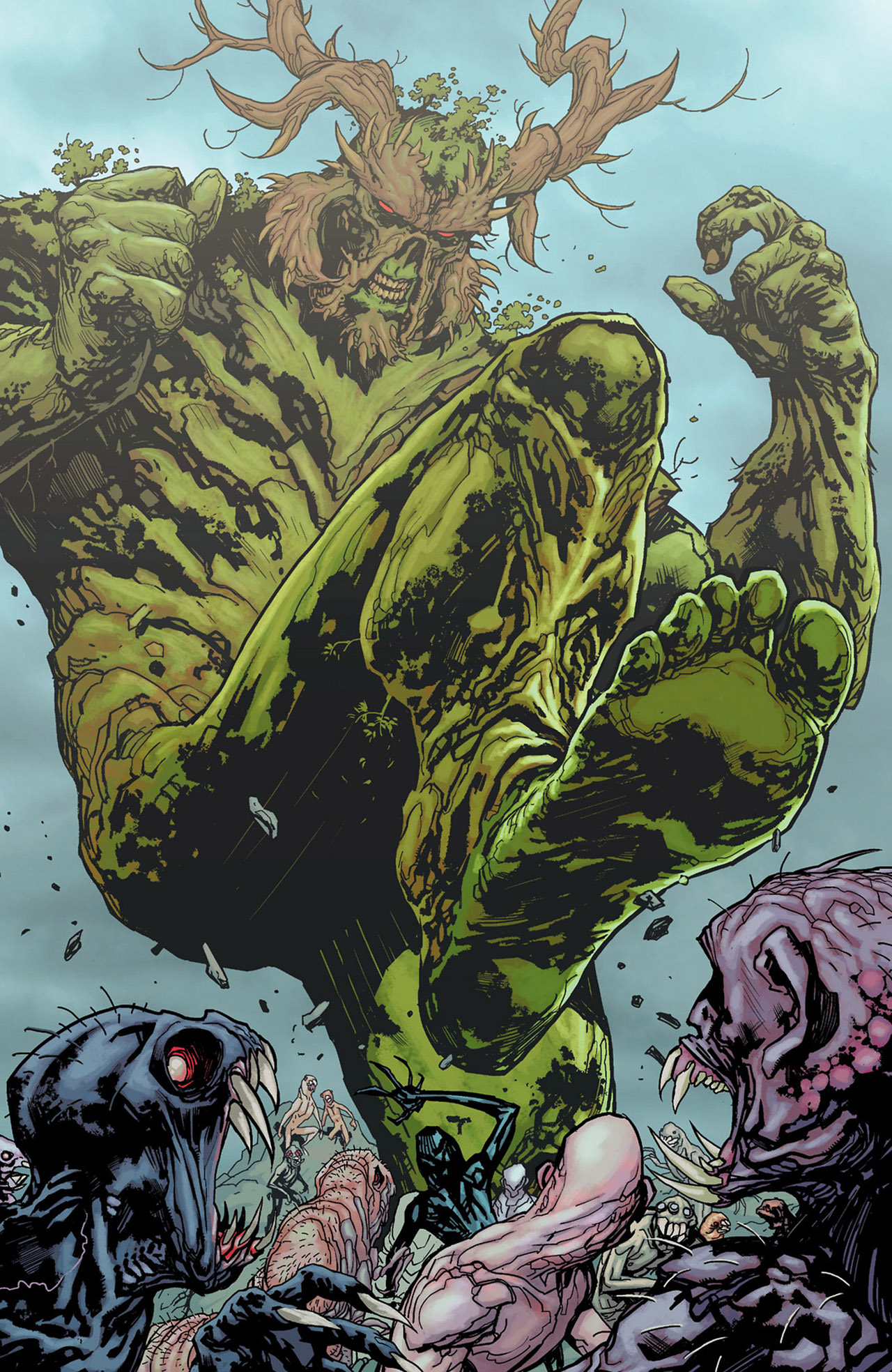 Swamp Thing #14: Siege on Rotworld | Let Us Nerd