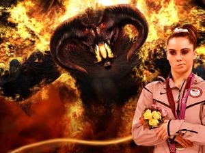 Demons Don't Impress McKayla