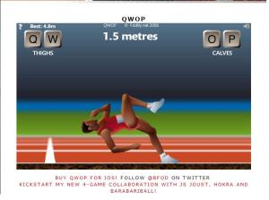 Did I QWOP right?