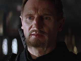 Liam Neeson's Ra's al Ghul. Gentlemanly. Distinguished. Absolutely evil.