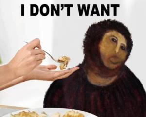 Monkey Jesus Don't Want