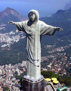 Monkey Jesus in Rio