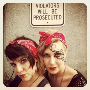 Audrey and Dasha