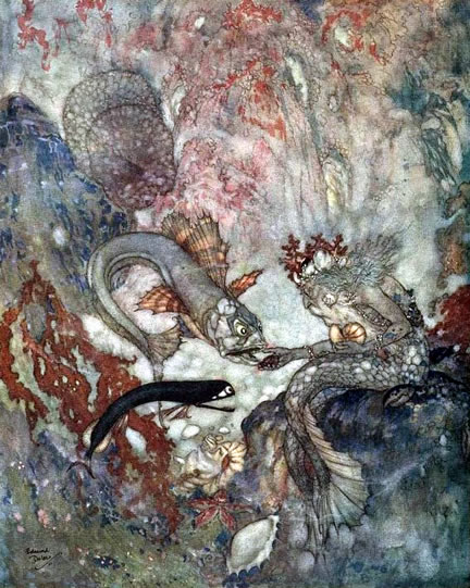 Hans Christian Andersen The Little Mermaid Original Book Hans Christian Andersen