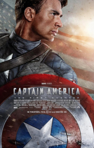 Captain America: The First Avenger Theatrical Poster