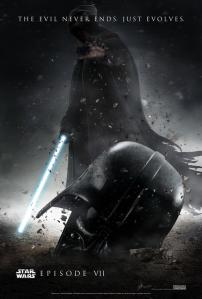 A fan-made Star Wars Episode VII poster