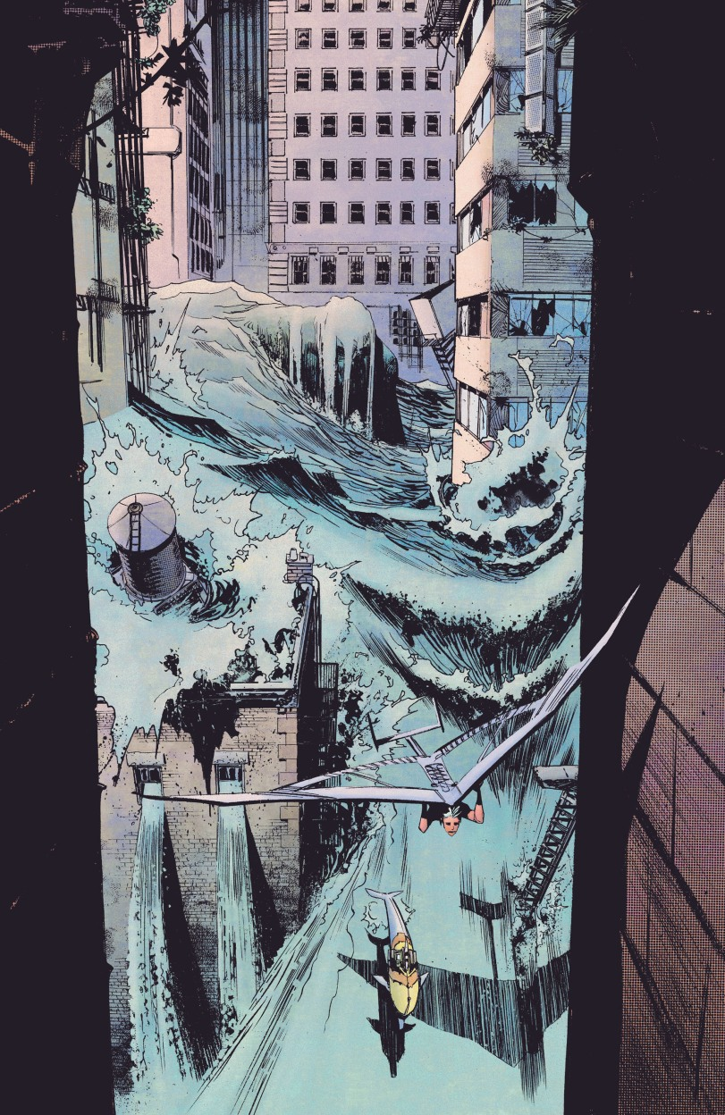 Future tidal wave. Not sure where this plays into the story, but we'll find out sooner or later.