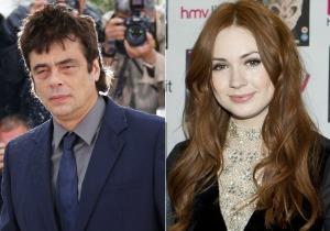 Benicio Del Toro and Karen Gillan