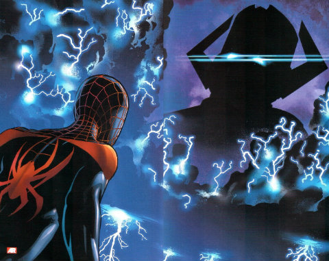 Miles Morales and Galactus