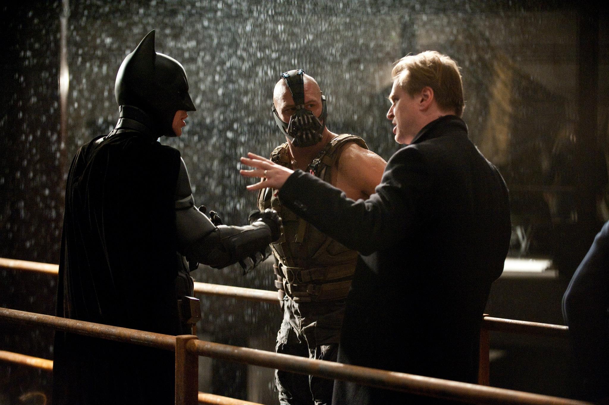 THE DARK KNIGHT RISES (2012, dir. Christopher Nolan): Wasn ...