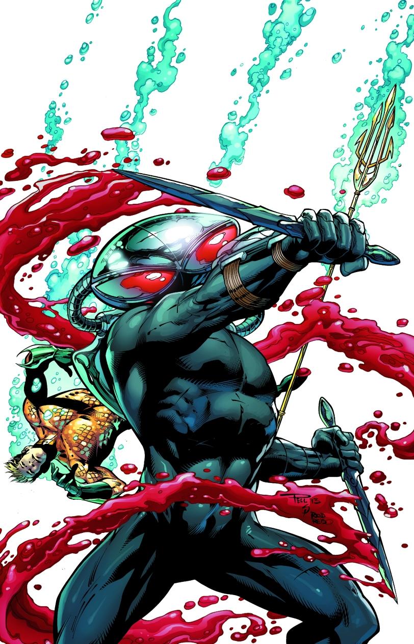 Cover art for Black Manta #1.