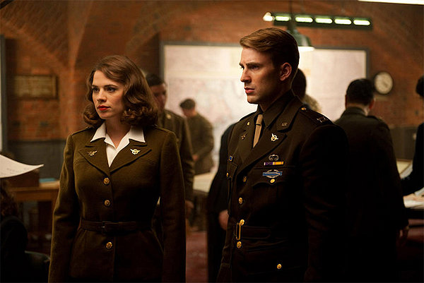 Agent Carter and Steve Rogers