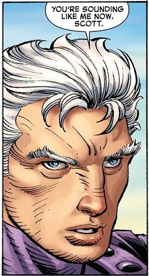 "This lazy-eyed Magneto for ""AvX"" STILL haunts me."
