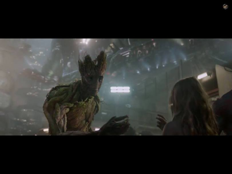 Groot With Girl