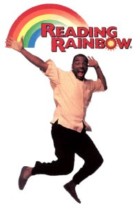 LeVar Burton Jumping Reading Rainbow