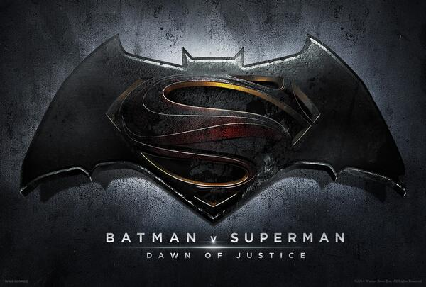New Batman V Superman Logo