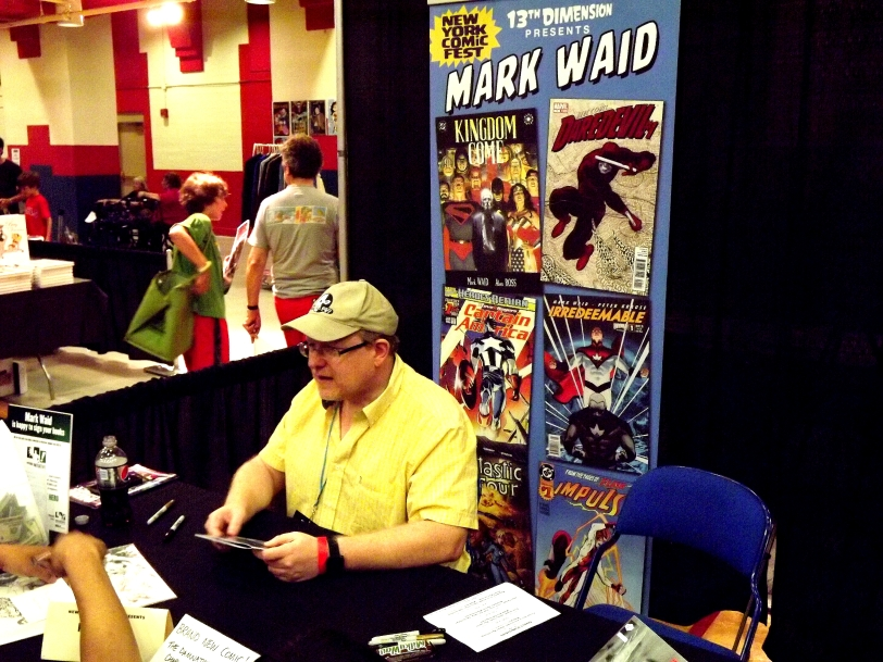 The classy and talented Mark Waid.