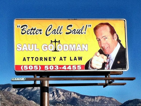 Saul Goodman Billboard